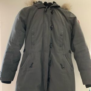 Authentic Canada Goose Kensington XS graphite